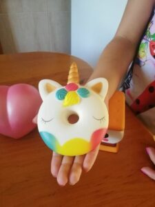 Squishy Donut Licorne photo review