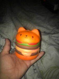 Squishy Hamburger Chat photo review