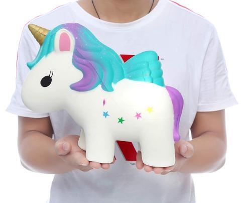 squishy géant licorne