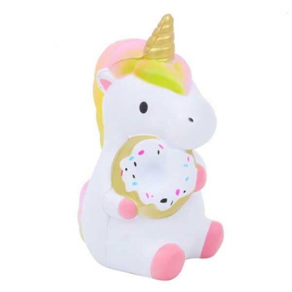 squishy bebe licorne rose