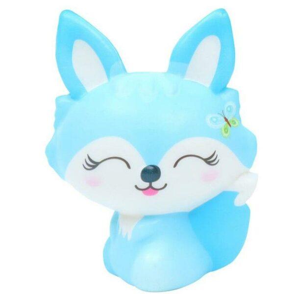 squishy renard bleu