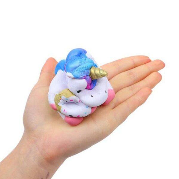 squishy bebe licorne bleu