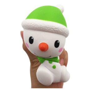 squishy bonhomme de neige écrasé