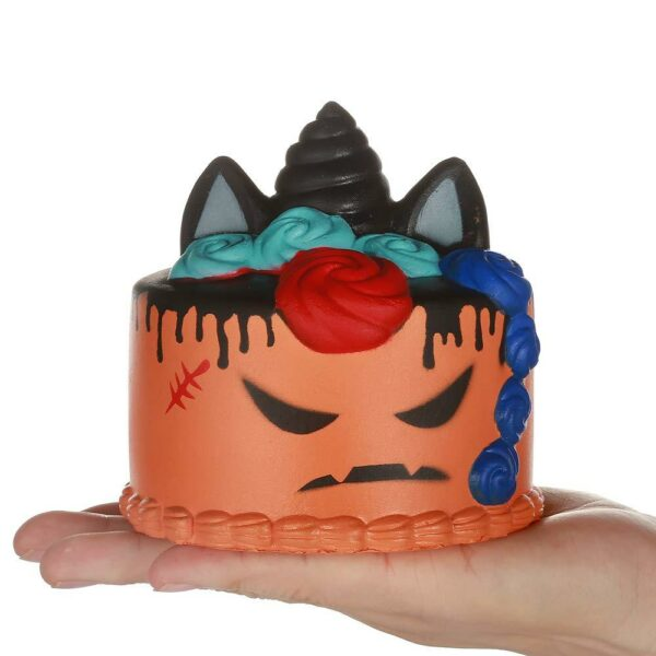 squishy gateau halloween orange