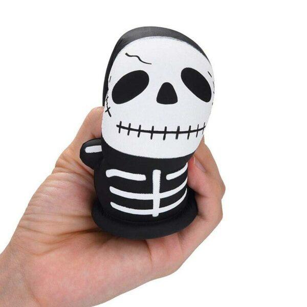 squishy squelette compressé