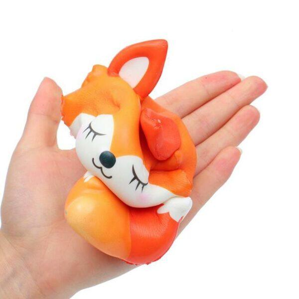 squishy renard pressé