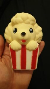 Squishy Popcorn Chien photo review