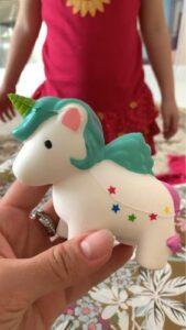 Squishy Licorne Cheval photo review