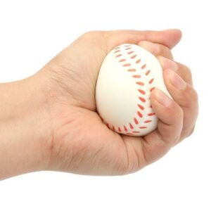 Squishy baseball dans la main