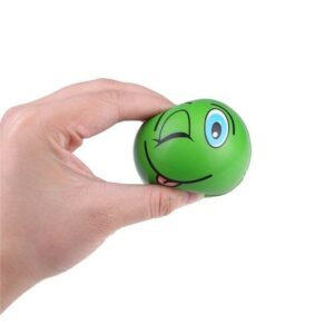 squishy emoji dans la main