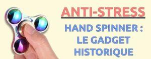 hand spinner objet anti-stress