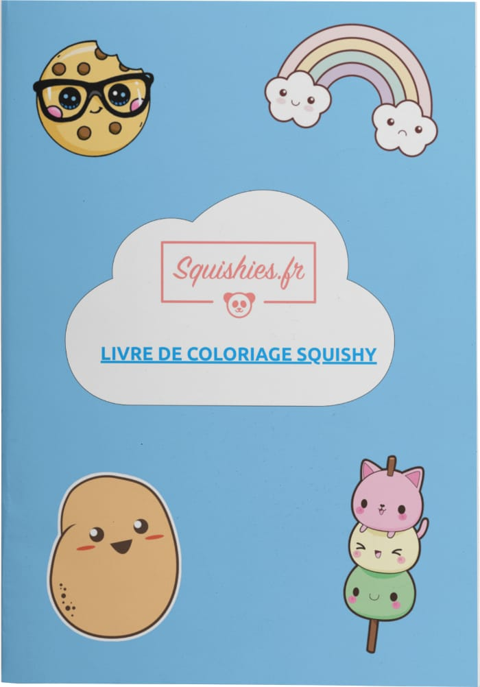squishy livre de coloriage