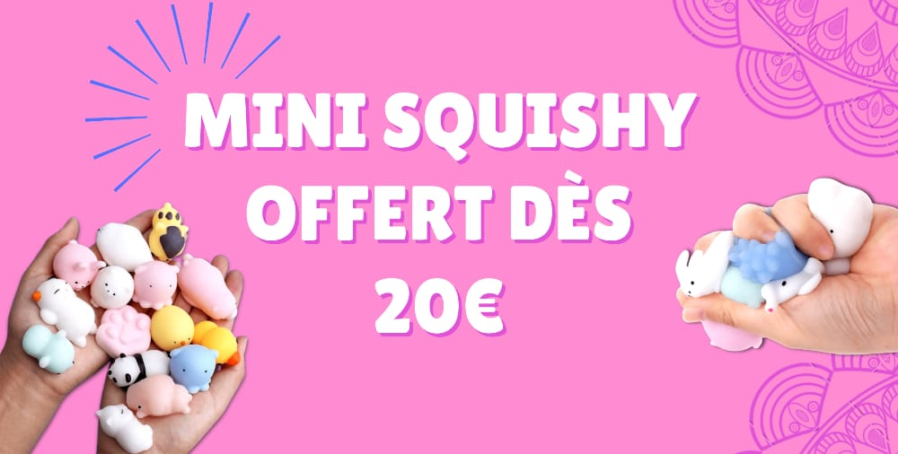 mini squishy offert