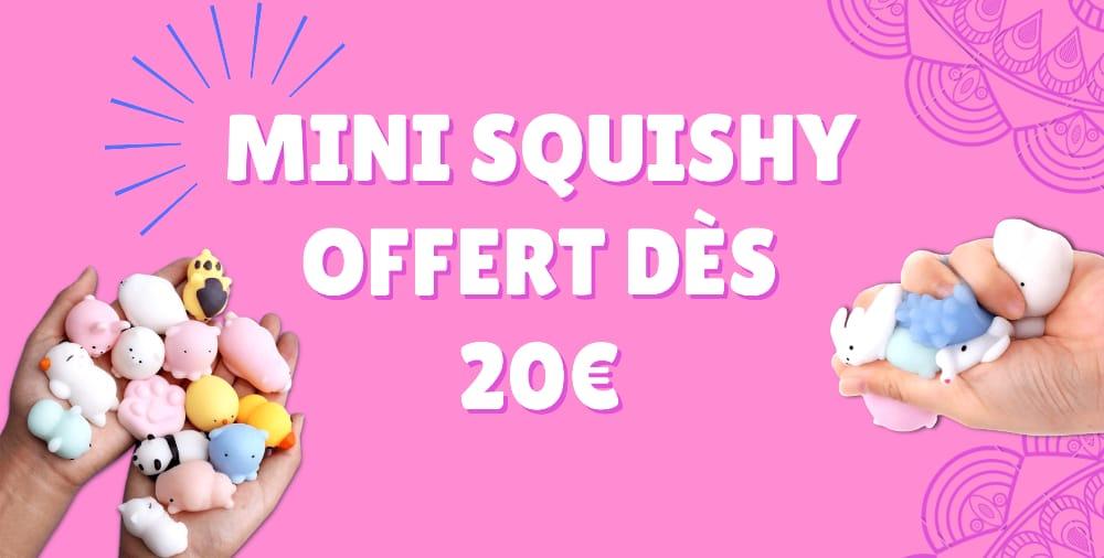mini squishy offert