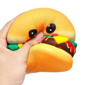 Squishy hamburger écrasé
