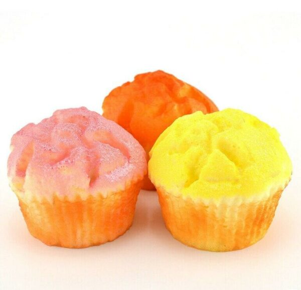 Squishy muffin différentes couleurs