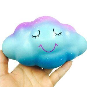 squishy nuage dans la main