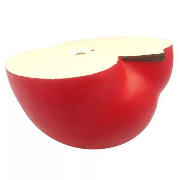 squishy géant pomme rouge