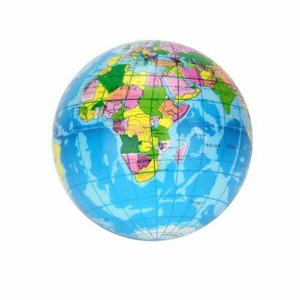 squishy globe terrestre