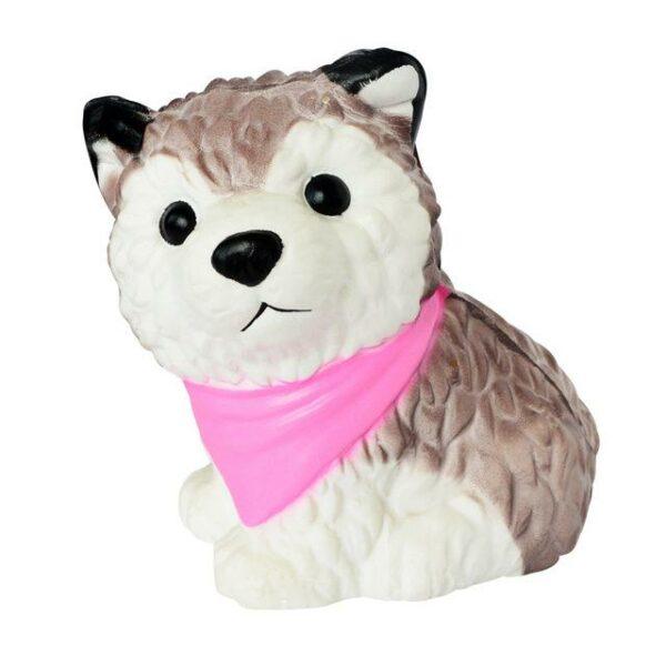 Squishy husky bandana rose
