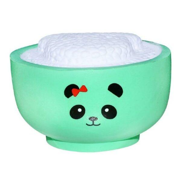 squishy bol de riz vert