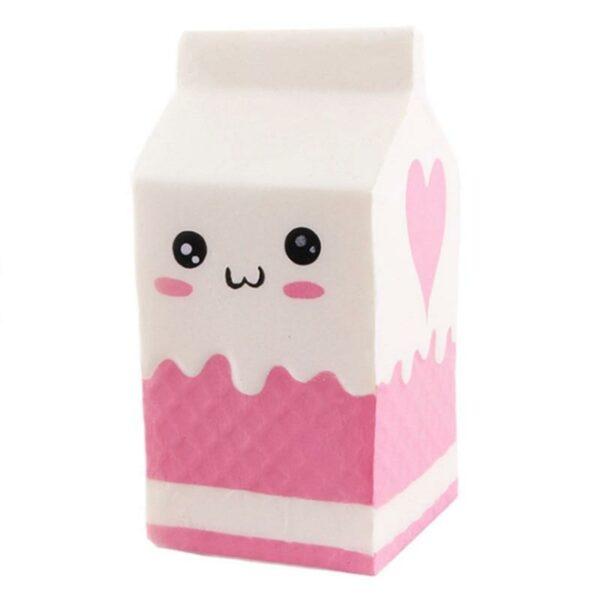 squishy brique de lait blanc