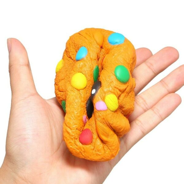 Squishy cookie écrasé