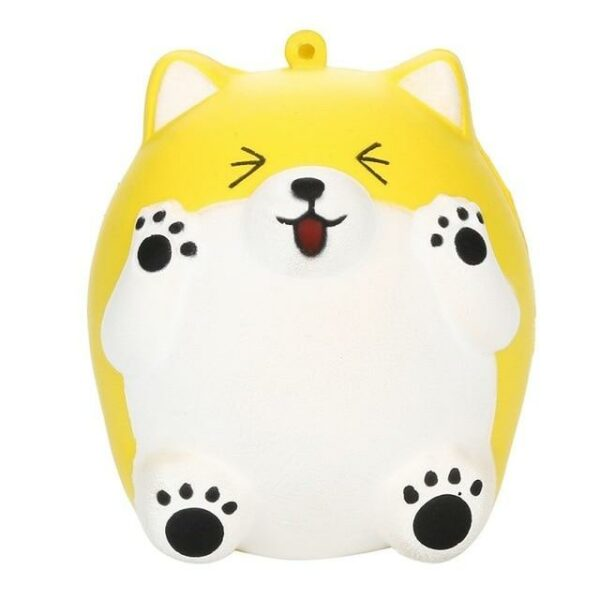 squishy ours jaune