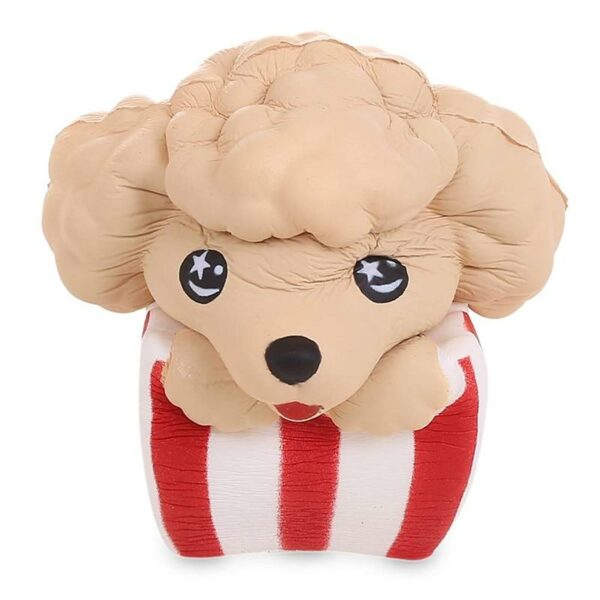 Squishy popcorn chien écrasé