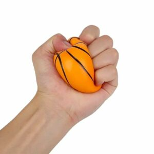 squishy basketball écrasé