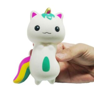 squishy chat licorne écrasé