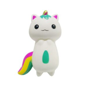 squishy chat licorne