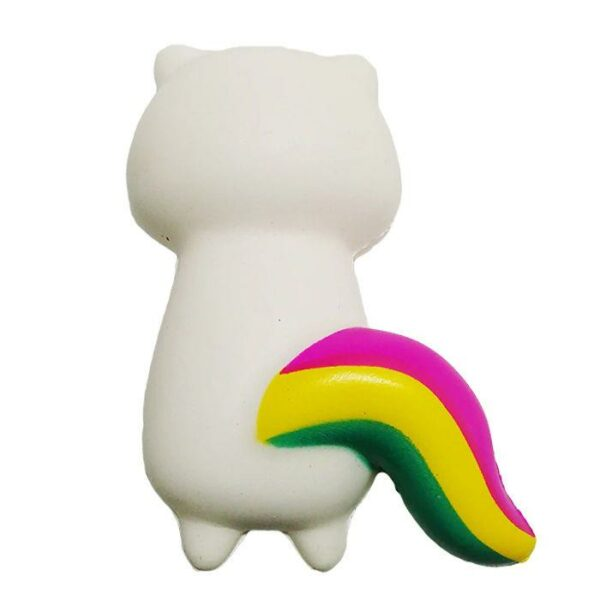 squishy chat licorne vu de derriere