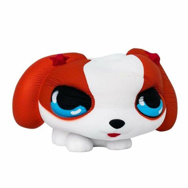 squishy chien beagle écrasé