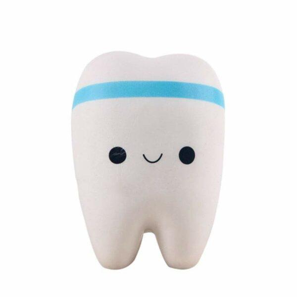 squishy dent bleu