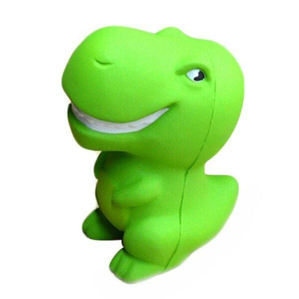 Squishy dinosaure vu de profil