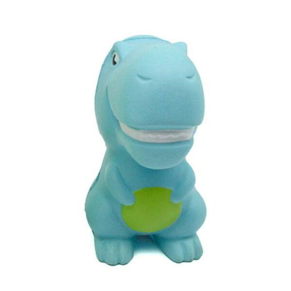 squishy dinosaure bleu