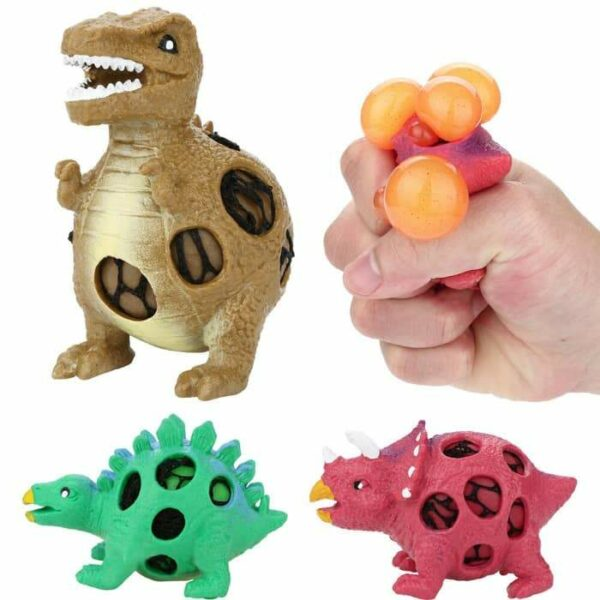 squishy dinosaure gluant plusieurs modèles