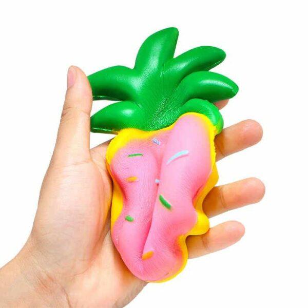 squishy donut ananas compressé