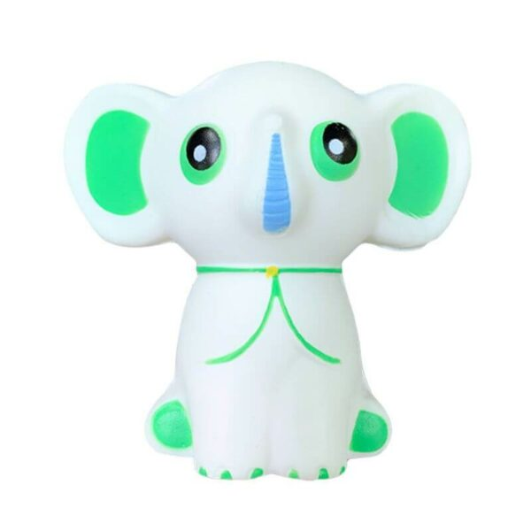 squishy éléphant blanc
