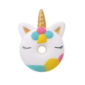 Squishy donut licorne