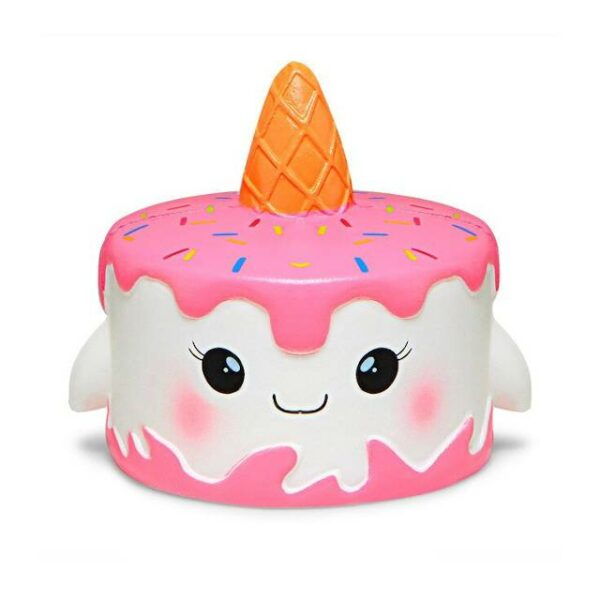 squishy gateau licorne rose
