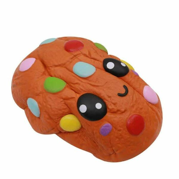 squishy geant cookie vu du dessus