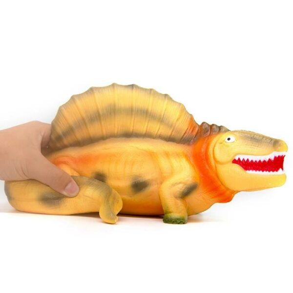 squishy géant dinosaure écrasé