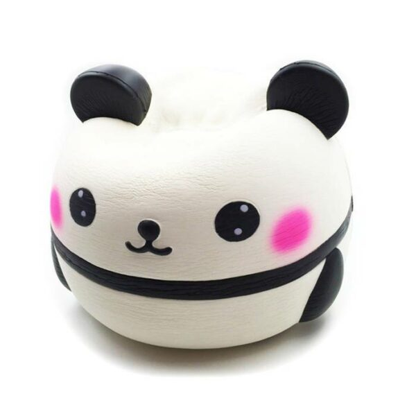squishy geant panda écrasé