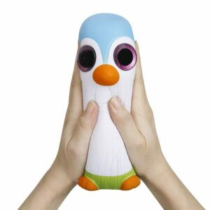 squishy géant pingouin écrasé
