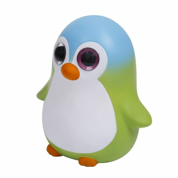 squishy géant pingouin vu de profil