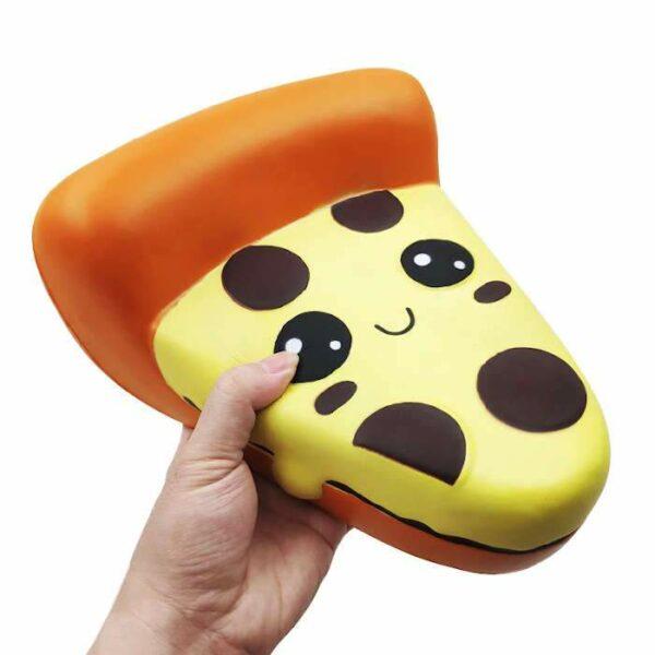 squishy géant pizza vu de profil