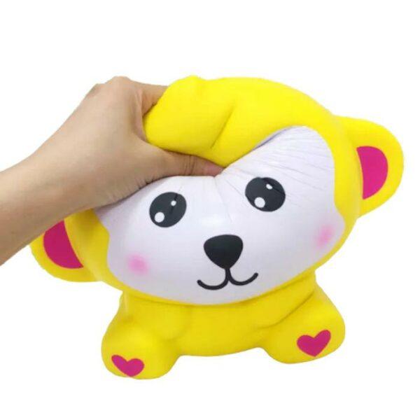 squishy geant singe jaune