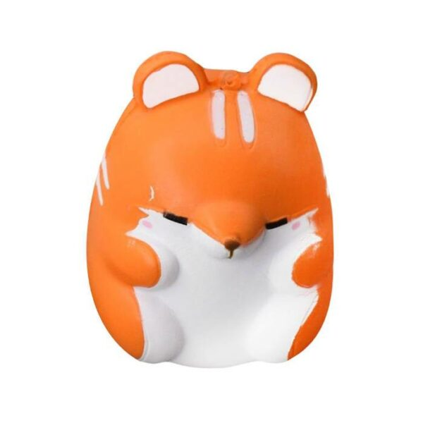 squishy hamster kawaii orange